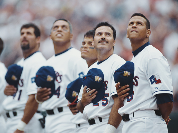 Alex Rodriguez - Baseball Player「Anaheim Angels vs Texas Rangers」:写真・画像(3)[壁紙.com]