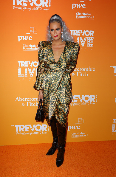 Leather Boot「2019 TrevorLive Los Angeles Gala - Arrivals」:写真・画像(15)[壁紙.com]