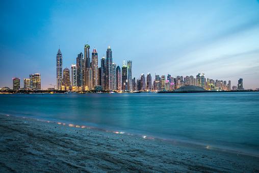 LypseUAE2015「Dubai Marina at Dusk」:スマホ壁紙(17)