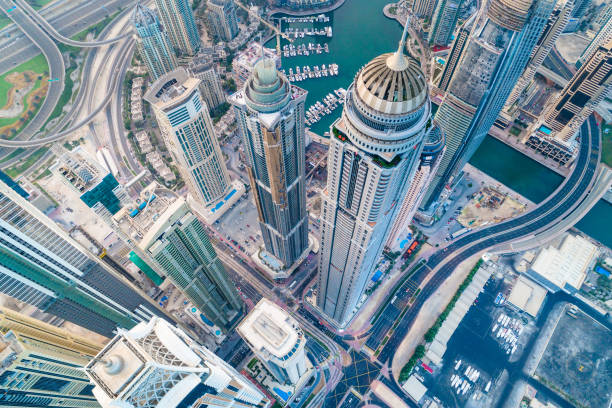 Dubai Marina Urban Skyline:スマホ壁紙(壁紙.com)