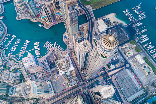 Elevated Road「Dubai Marina Urban Skyline」:スマホ壁紙(15)
