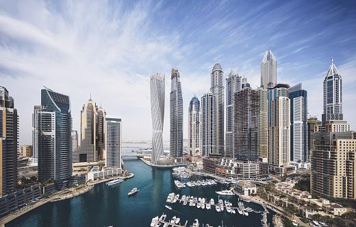 Event「Dubai Marina skyline」:スマホ壁紙(19)