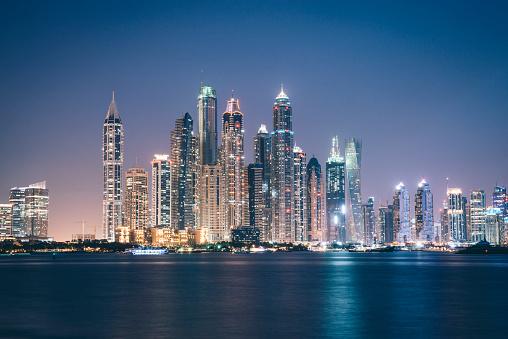 LypseUAE2015「Dubai Marina at Night」:スマホ壁紙(15)