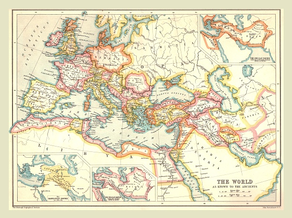Map「Map Of The Ancient World」:写真・画像(17)[壁紙.com]