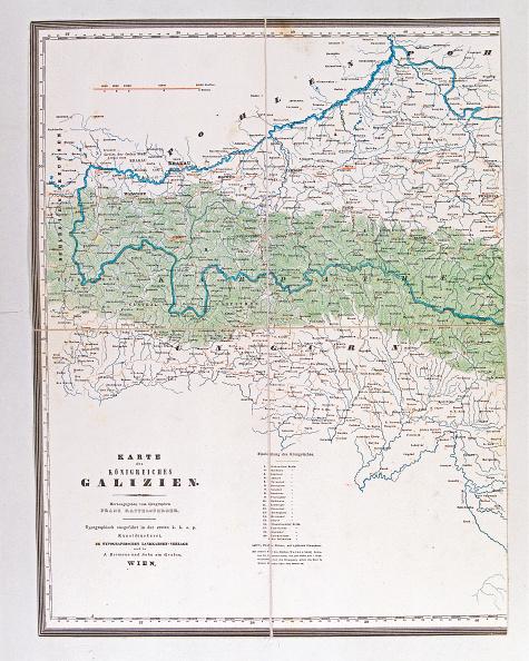 Chromolithograph「Map Of The Kingdom Of Galicia」:写真・画像(10)[壁紙.com]