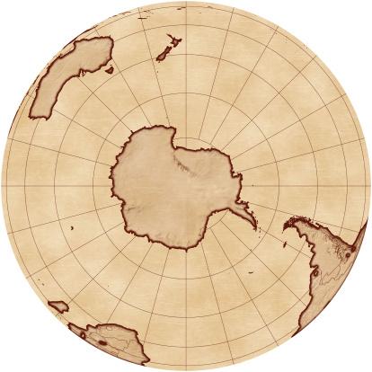Latitude「Map of the South Pole」:スマホ壁紙(9)