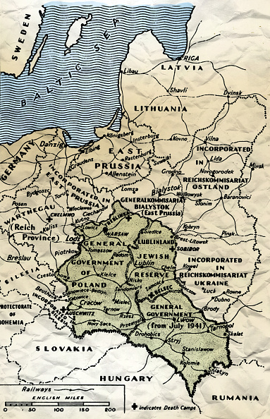 Map「NAZI CAMPS」:写真・画像(9)[壁紙.com]