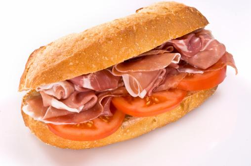 Bun - Bread「Parma ham and tomato sandwich」:スマホ壁紙(15)