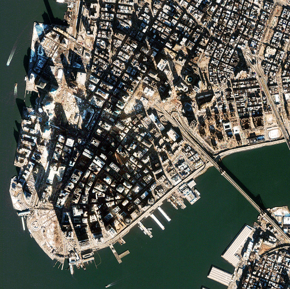 Macrophotography「Satellite View of World Trade Center Site」:写真・画像(16)[壁紙.com]