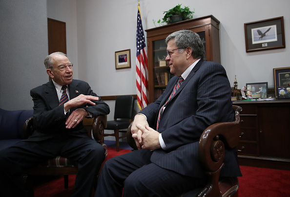 Win McNamee「Outgoing Senate Judiciary Committee Chairman Charles Grassley (R-IA) Meets With Trump's Attorney General Nominee William Barr」:写真・画像(1)[壁紙.com]