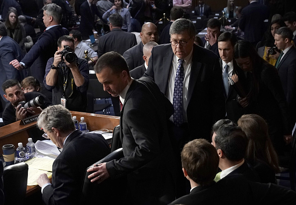 Attorney General「Senate Holds Confirmation Hearing For Attorney General Nominee William Barr」:写真・画像(13)[壁紙.com]