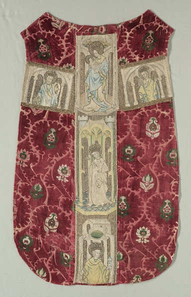 Cross Shape「Chasuble Back With Embroidered Orphrey Band」:写真・画像(18)[壁紙.com]