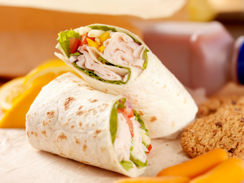 Tortilla - Flatbread「Healthy Packed Lunch」:スマホ壁紙(2)