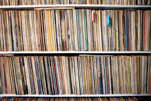 Audio Equipment「Record Collection」:スマホ壁紙(19)