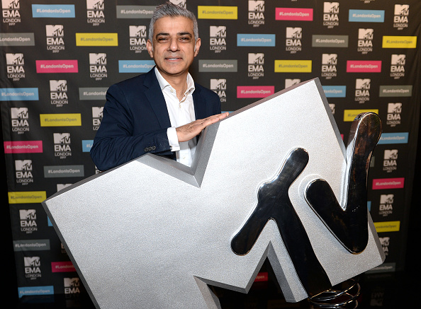 MTV Europe Music Awards「Mayor Of London, Sadiq Khan, Announces London As Host City For The 2017 MTV EMA's」:写真・画像(18)[壁紙.com]