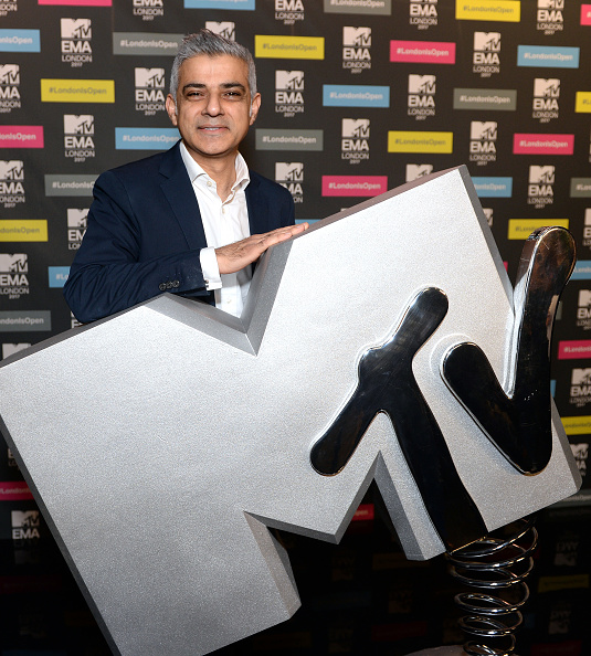 MTV Video Music Awards「Mayor Of London, Sadiq Khan, Announces London As Host City For The 2017 MTV EMA's」:写真・画像(15)[壁紙.com]