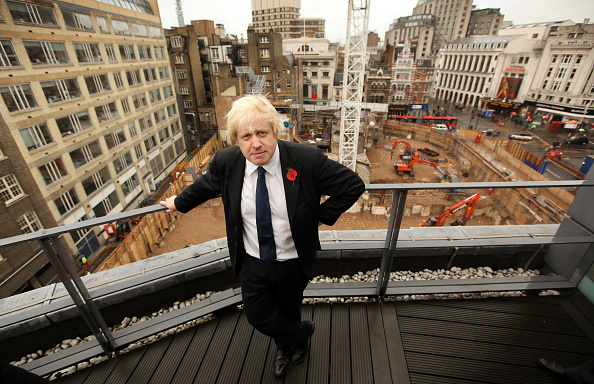 Architectural Feature「Boris Johnson Invites The Press To View The Crossrail And Tube Construction」:写真・画像(18)[壁紙.com]