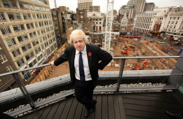 Boris Johnson Invites The Press To View The Crossrail And Tube Construction:ニュース(壁紙.com)