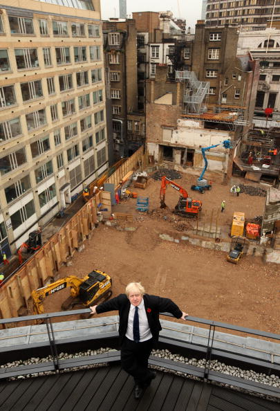 Architectural Feature「Boris Johnson Invites The Press To View The Crossrail And Tube Construction」:写真・画像(17)[壁紙.com]
