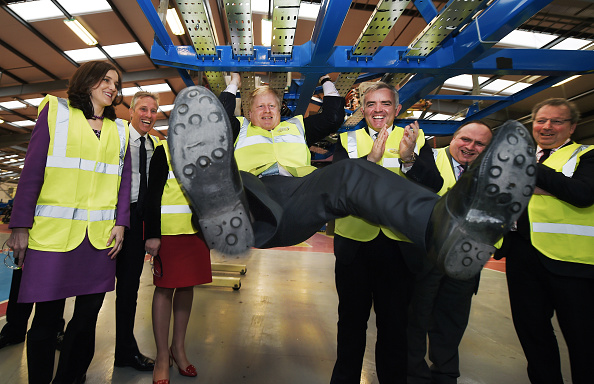 Bus「The Mayor Of London Visits Businesses In Northern Ireland」:写真・画像(14)[壁紙.com]