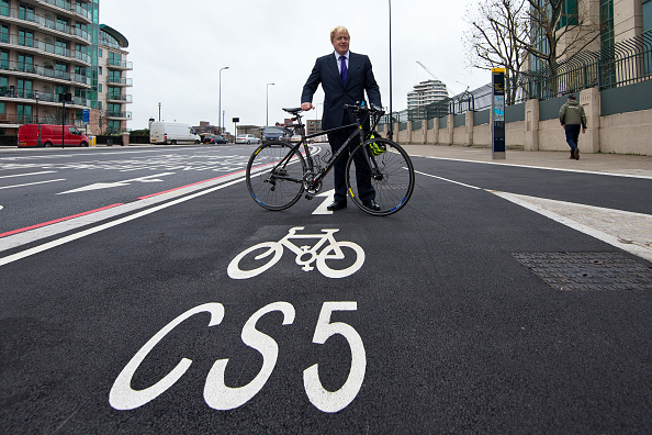 Finance and Economy「Boris Johnson Launches London's First Cycle Superhighway」:写真・画像(7)[壁紙.com]