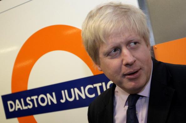 Link - Chain Part「Boris Johnson Opens The New East London Line Railway Service」:写真・画像(4)[壁紙.com]