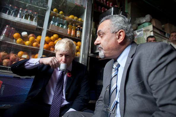 Three Quarter Length「Mayor Of London Boris Johnson Visits Israel」:写真・画像(18)[壁紙.com]