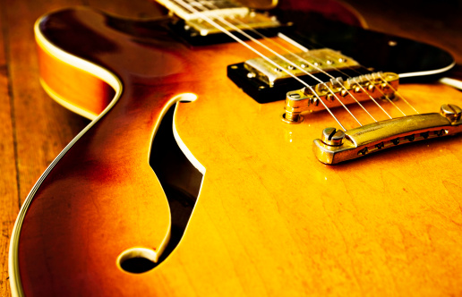 Rock Music「Jazz blues guitar」:スマホ壁紙(19)