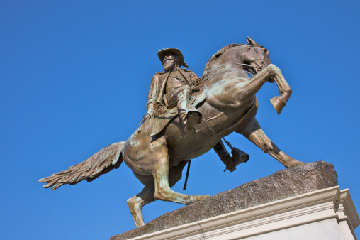 Officer - Military Rank「Major General J.E.B. Stuart Monument, Monument Avenue, Downtown Richmond, Virginia, USA」:スマホ壁紙(6)