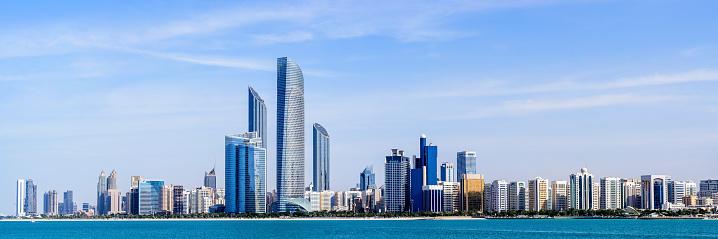2015「Abu Dhabi City Skyline United Arab Emirates」:スマホ壁紙(17)