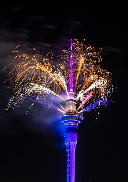 Auckland「New Zealanders Celebrate New Year's Eve 2019」:写真・画像(14)[壁紙.com]