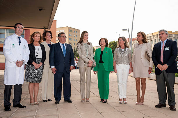 Princess Letizia Attends Annual of Scientific Foundation of The Spanish Cancer Association:ニュース(壁紙.com)