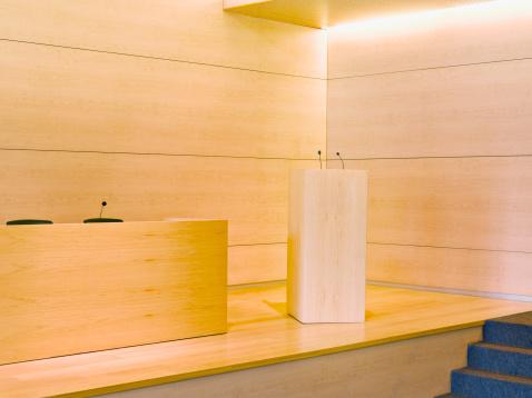 Wood Paneling「Podium on auditorium stage」:スマホ壁紙(17)