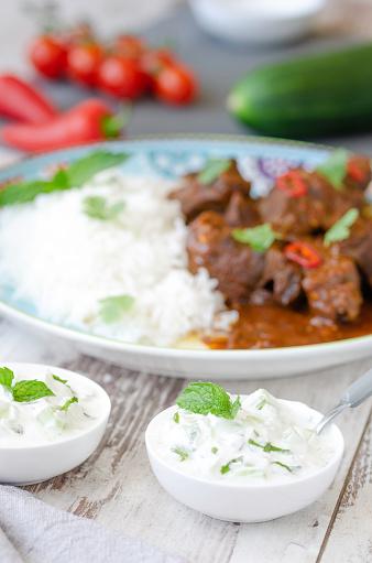 Basmati Rice「Homemade curry beef stew」:スマホ壁紙(5)