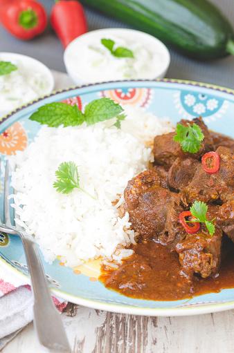 Basmati Rice「Homemade curry beef stew」:スマホ壁紙(15)