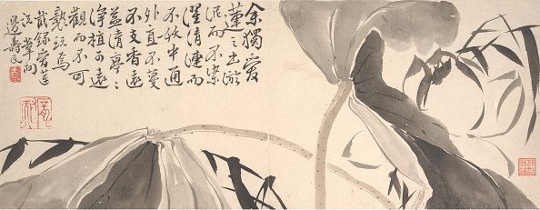 Water Lily「Lotus Leaves And Water Reeds. Creator: Bian Shoumin.」:写真・画像(17)[壁紙.com]