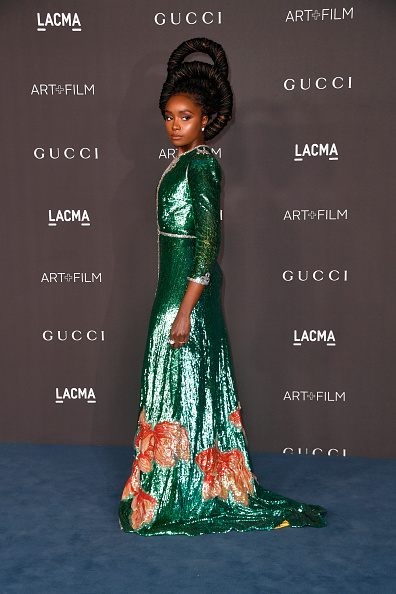 Two-Toned Dress「2019 LACMA Art + Film Gala Presented By Gucci - Arrivals」:写真・画像(17)[壁紙.com]