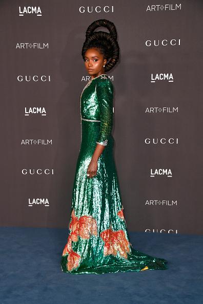 Metallic Dress「2019 LACMA Art + Film Gala Presented By Gucci - Arrivals」:写真・画像(13)[壁紙.com]