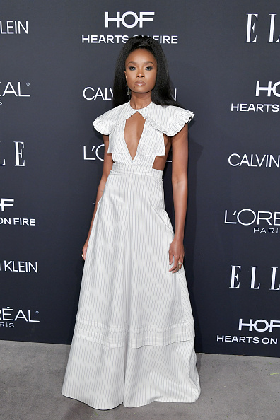 Celebration「ELLE's 25th Annual Women In Hollywood Celebration Presented By L'Oreal Paris, Hearts On Fire And CALVIN KLEIN - Red Carpet」:写真・画像(4)[壁紙.com]