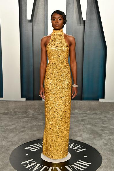 Yellow Dress「2020 Vanity Fair Oscar Party Hosted By Radhika Jones - Arrivals」:写真・画像(12)[壁紙.com]