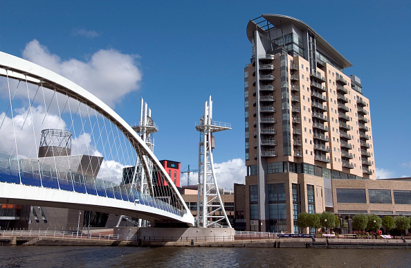Footbridge「Lowry Footbridge, Salford Quays, Manchester, United Kingdom」:写真・画像(14)[壁紙.com]
