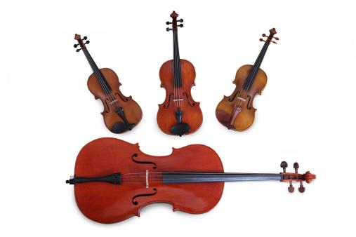 Viola - Musical Instrument「String Quartet」:スマホ壁紙(2)