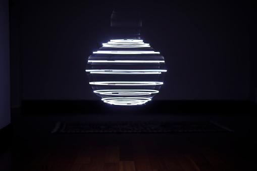 Sphere「LED light pattern」:スマホ壁紙(10)