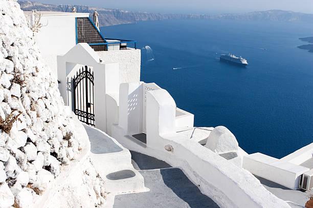 Santorini, Greece:スマホ壁紙(壁紙.com)