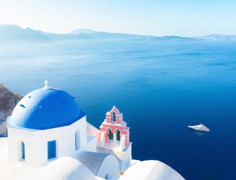 Aegean Sea「Santorini, Greece」:スマホ壁紙(12)