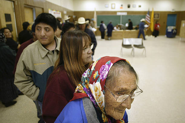 New Mexico Voters Go To The Polls:ニュース(壁紙.com)