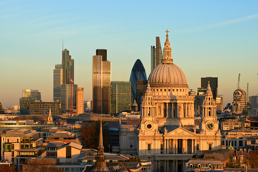 St「St Paul's Cathedral and the City of London」:スマホ壁紙(11)
