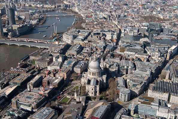 都市景観「St Pauls Cathedral And The City Of London,」:写真・画像(12)[壁紙.com]