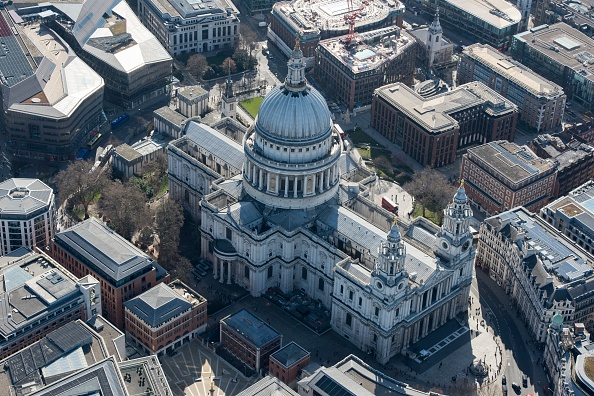 High Angle View「St Pauls Cathedral,」:写真・画像(16)[壁紙.com]