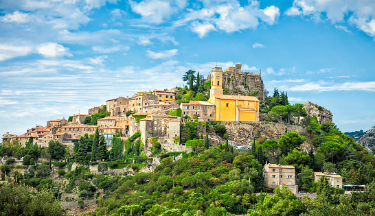 Nice - France「Eze is a small old Village in Alpes-Maritimes department in southern France,」:スマホ壁紙(15)